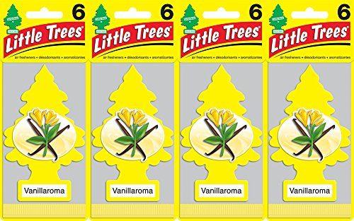 Little Trees Vanillaroma Air Freshener, Pack of 24