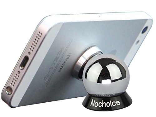 Nochoice? Magnetic Car Phone Holder Upgraded Version 1 Magnet + 1 Ball