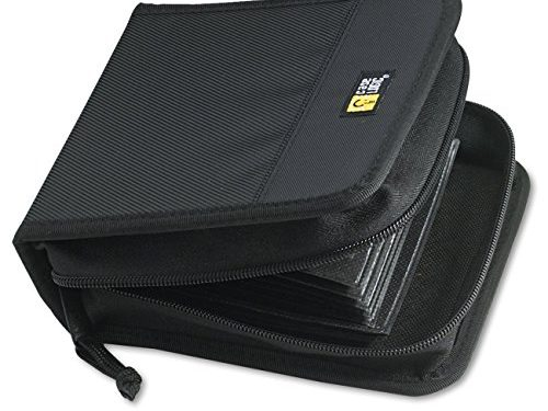 Case Logic CDW-32 32 Capacity Classic CD Wallet Black