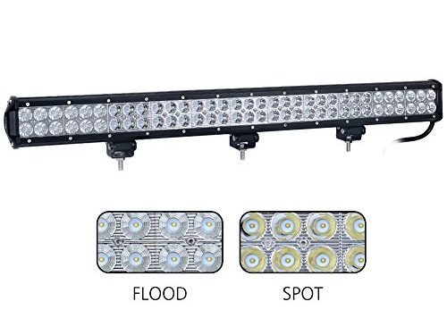 Nilight 31″ 198W Led Light Bar Flood Spot Combo Off Road Work Light Driving Fog Lights for SUV Boat 4×4 Jeep Lamp,2 Years Warranty