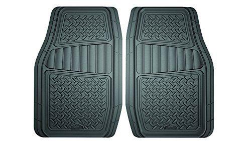 Armor All 78831 2-Piece Grey All Season Truck/SUV Rubber Floor Mat