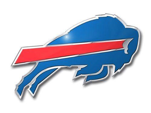 NFL Buffalo Bills Die Cut Color Automobile Emblem
