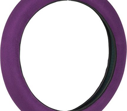 Bell Automotive 22-1-97052-9 Universal Stress Reliever Hyper-Flex Core Steering Wheel Cover, Purple