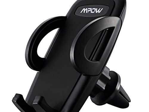Mpow Air Vent Car Mount Holder Adjustable Air Vent Cellphone Mount Holder, for iPhone 7/6s/6/6s Plus/6 Plus/ Galaxy S7