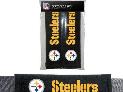 NFL Pittsburgh Steelers Seat Belt Pad 2-Pack