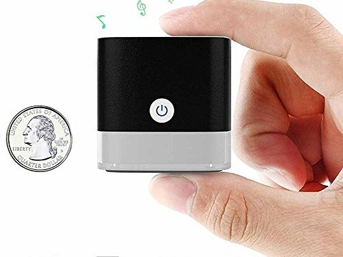 Mini Bluetooth Speaker, Small Bluetooth Speaker with Big Sound and Heavy Bass, Compact Pocket Size Micro Bluetooth Speaker 50ft Wireless Range Up to 12 Hour Play Time – Portable Bluetooth Speaker