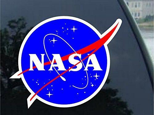 Nasa Seal USA Space Cosmos Logo Vinyl Sticker Decal 6″ 2 Pack