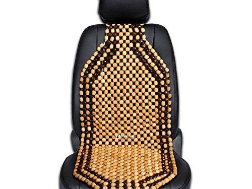 Zento Deals Wood Beaded Comfort Seat Cushion