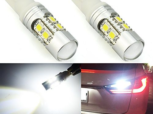 JDM ASTAR Super Bright AX-2835 Chipsets 912 921 LED Bulbs For Backup Reverse Lights, Xenon White Only used for backup reverse lights