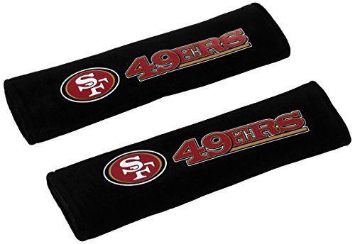 NFL San Francisco 49Ers Seat Belt Pad Pack of 2