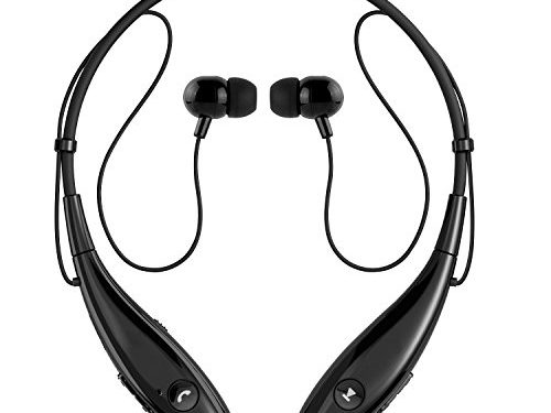 Upgraded Version of Q900 – SoundPEATS Bluetooth Headphones Wireless Headset Stereo Neckband Sport Earbuds with Mic 10 Hours Play Time, Bluetooth 4.1, Sweatproof