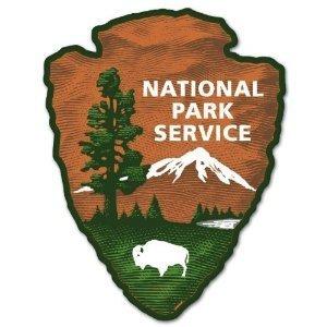 National Park Service Bumper Sticker Decal 4″ x 5″