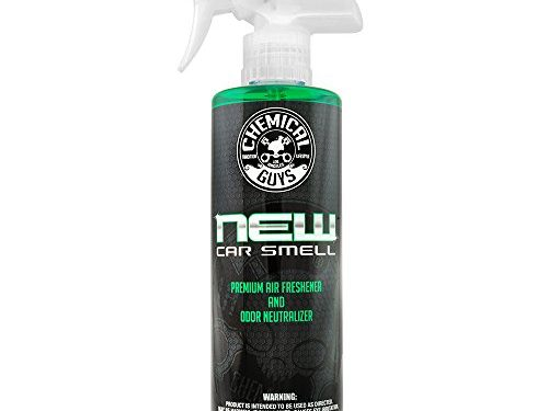 Chemical Guys AIR_101_16 New Car Smell Premium Air Freshener and Odor Eliminator 16 oz