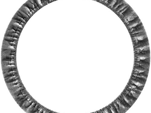 Custom Accessories 31104 Grey Stretch-On Steering Wheel Cover
