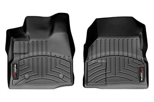 WeatherTech DigitalFit™ Molded Floor Liners 1st Row, Black 443461