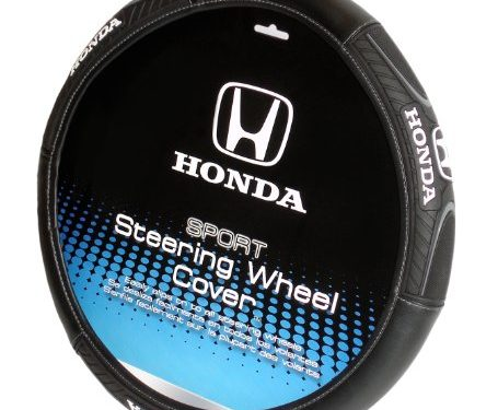 Plasticolor 006492R01 Sport Grip 'Honda' Steering Wheel Cover
