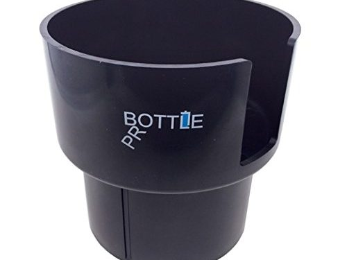 Bottle Pro – Car Cup Holder Adapter for Nalgenes 32oz, Hydro Flasks 32oz and 40oz, Klean Kanteens 32oz and 40oz, and Other Large Bottles