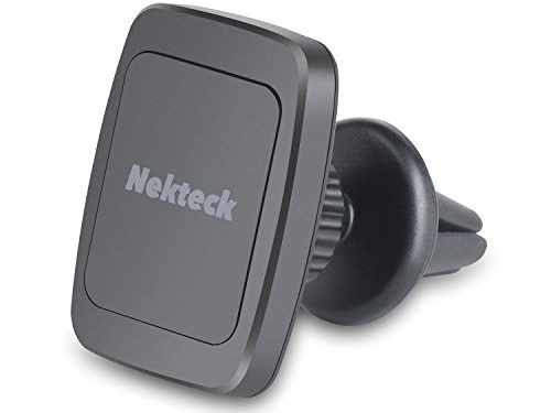 Car Mount, Nekteck Magnetic Cradle-less Universal Car Phone Air Vent Holder with Swivel for iPhone 6S/ 6 6 Plus, SE, 5s, Samsung Galaxy S6/S7 Edge Plus S5 Note 5 4 3, LG G5, Nexus 6P 5X More, Black