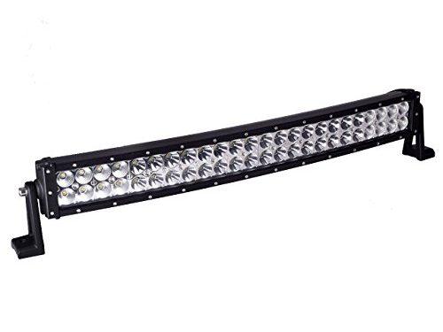 Cree Led Light, Eyourlife 28 inch Curved Light Bar 144W Driving Light Flood Spot Combo Beam IP 68 Waterproof for Off-road Vehicle, ATV, SUV, UTV, 4WD, Jeep, Boat- Black