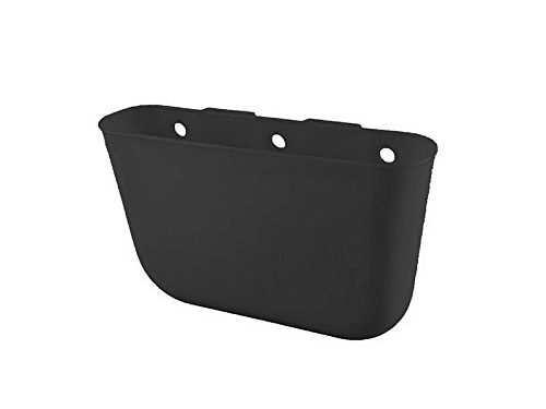 YOUNGFLY Hanging Auto Car Rubbish Can Garbage Trash Case Storage Box Holder Pocket Organizer for Car Office Home Auto Black