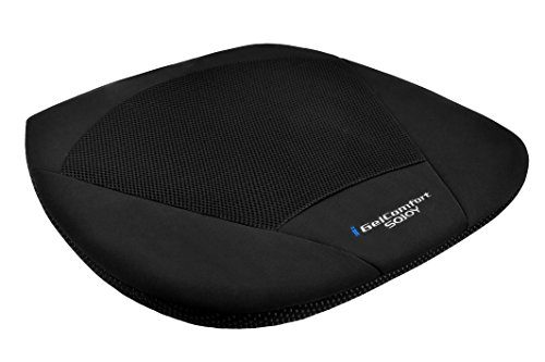 Sojoy iGelComfort Coccyx Orthopedic Breathable Gel Seat Cushion black