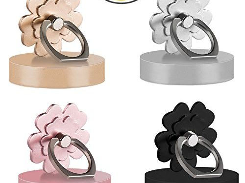 Phone ring stand holder 4 package Metal Finger Grip Stand Holder Ring,Car Mount 360°Rotation Phone Ring Grip for Samsung Galaxy iphone Tablet PC Smartphone phone ring stent flower