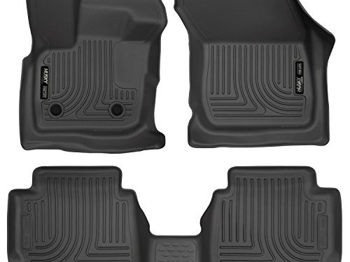 Husky Liners Front & 2nd Seat Floor Liners Fits 2017 Fusion, 2017 MKZ