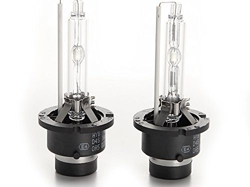 HYB 6000K 35W D4S car Xenon HID Headlight Replacement Bulb Pack of 2