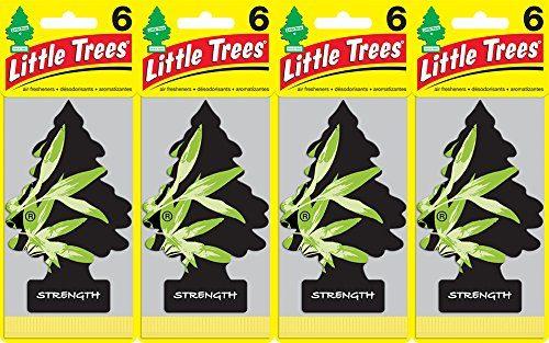 Little Trees Strength Air Freshener, Pack of 24