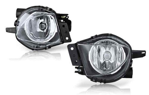 06-08 Bmw E90 3 Series Oem Fog Light-Clear Pair