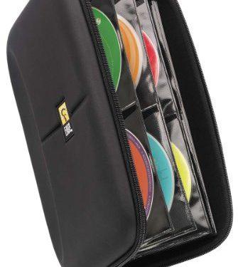 Case Logic CDE-48 48 Capacity Heavy Duty CD Wallet, Black