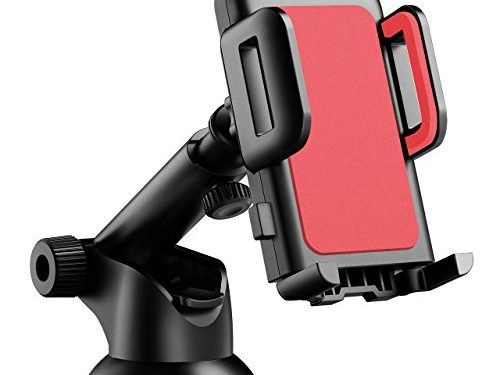 Mpow Car Phone Holder, Dashboard Cell Phone Car Phone Mount with Strong Sticky Gel Pad and One-Touch Design for iPhone 7/7Plus/6s/6Plus/5S, Galaxy S5/S6/S7/S8, Google Nexus, LG, Huawei and More