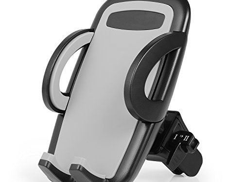 Car Mount Phone Holder, Emelon Universal Cellphone Holder for Air Vent with 360 Degree Rotation, Compatible with iPhone 7 7 Plus 6s 6 Plus 6 5s and other Smartphones and GPS devices