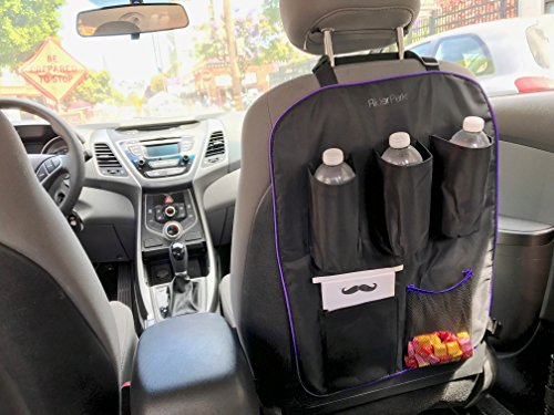 Black Executive Edition – Car seat organizer for Uber/Lyft/Taxi driver