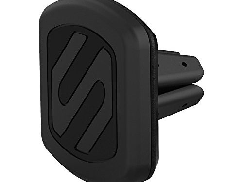 SCOSCHE MAGVM2B Magnetic Car Vent Mount for iPhones, Samsung Galaxy, HTC One, Lg G3 Frustration – Free Packaging, Black