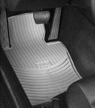 BMW FRONT Gray X5 E53 All Season Floor Mats 2001 – 2006 Genuine Factory OEM 82550151487 set of 2 front mats