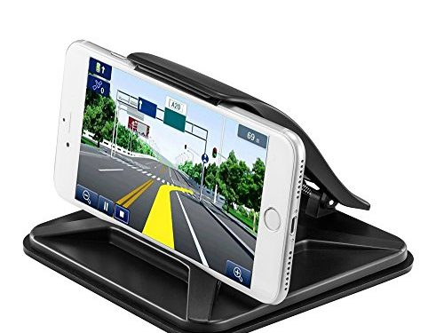 Facoon Car NonSlip Pad Dashboard Mat Cell Phone Desktop Stand Mount Holder Cradle Dock Universal for Smartphones Table PC GPS