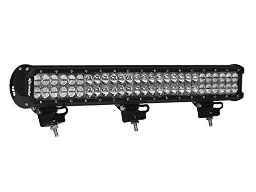 Led Light Bar, Eyourlife 25″ 162W Dual Row Cree Led Bumper Light Bar Flood Spot Combo Waterproof Driving Lights Off Road Lights for SUV UTE Truck ATV UTV