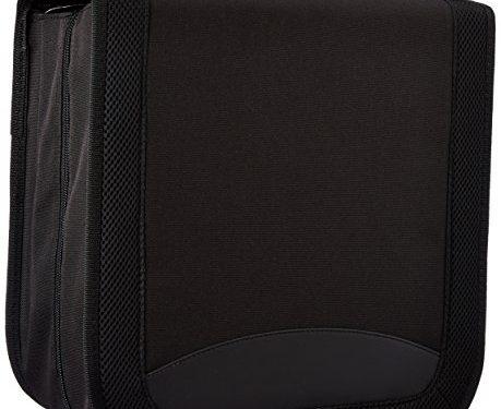 AmazonBasics Nylon CD/DVD Wallet 128 Capacity