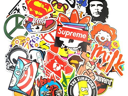 Sticker Pack 200-Pcs, Neuleben Graffiti Sticker Decals Vinyls for Laptop,Kids,Teens,Cars,Motorcycle,Bicycle,Skateboard Luggage,Bumper Stickers Hippie Decals bomb Waterproof
