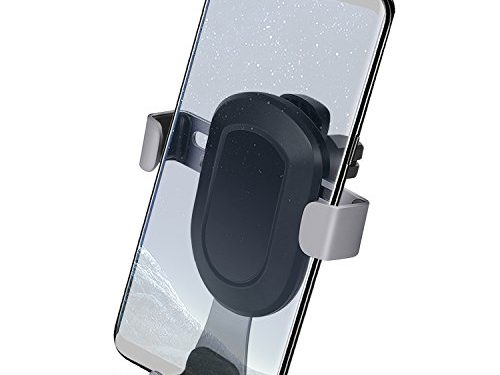Smart No Touch Car Phone Mount, Universal Air Vent Phone Holder for iPhone 7 / 7 Plus / 6 / 6s Plus, SE, Samsung Galaxy S6 / S7 / S7 Edge / Note 6 / 7 and Other Smartphones