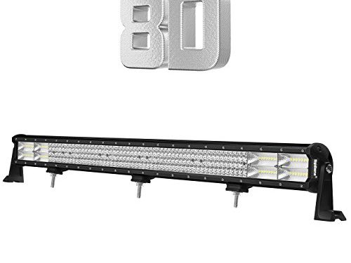 Rigidhorse 36Inch 864W Quad Row LED Light Bar Spot Flood Combo Beam Off Road Light Bar High Bright for Jeep SUV Truck ATVs