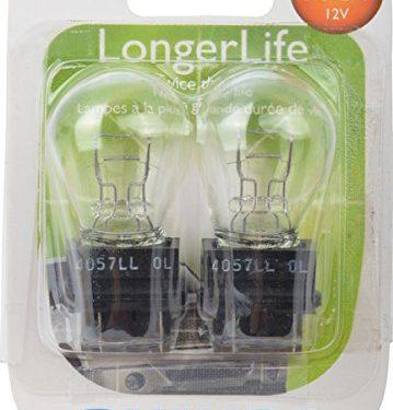 Philips 4057 LongerLife Miniature Bulb, 2 Pack