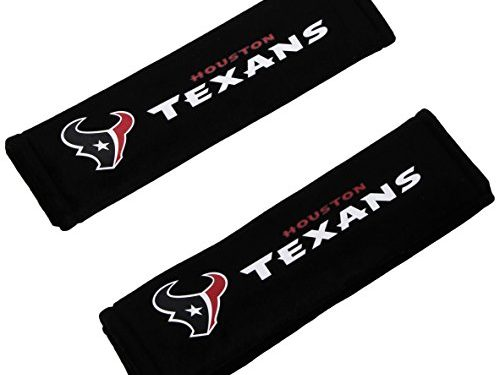 NFL Houston Texans Seat Belt Pad Pack of 2