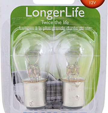 Philips 2357 LongerLife Miniature Bulb, 2 Pack