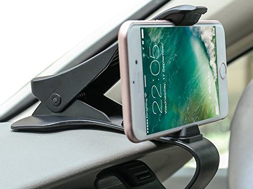 Car Mount, Car Phone Mount BEELOO Mount Dashboard Phone Holder, Car Cradle Mount Safe Driving for iPhone 7/7 Plus 6S 6, Samsung Galaxy S8, Huawei, HTC & Other Smartphone Holds Up to 6.5 inch Phone