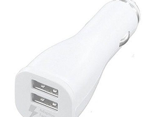 Samsung AFC Dual Fast Car Charger EP-LN920 Adaptive Fast Charging-White