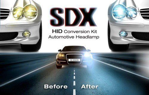 "HID Xenon DC Headlight™ ""Slim"" Conversion Kit by SDX, H13 Dual-Beam Bi-Xenon, 10000K"