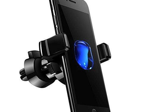 Car Phone Mount Air Vent Cell Phone Holder 360 Degree Rotation Car Cradle for iphone 7 6 plus 6S Samsung Galaxy S8 S7 S6 and all Smartphones