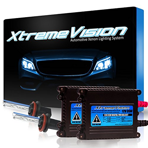 2 Year Warranty – Light Blue – XtremeVision 35W HID Xenon Conversion Kensun V W W Wiring Harness Controller on